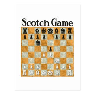 Scotch Game Postcard