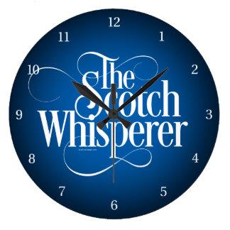 Scotch Whisperer Large Clock