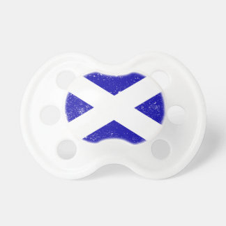 Scotish Flag With Grunge Dummy