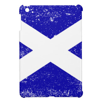 Scotish Flag With Grunge iPad Mini Cover