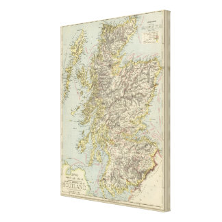 Scotland 10 canvas print