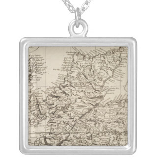 Scotland 10 silver plated necklace