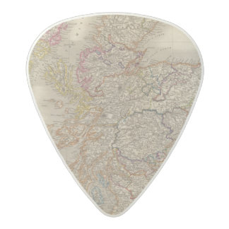 Scotland 12 acetal guitar pick