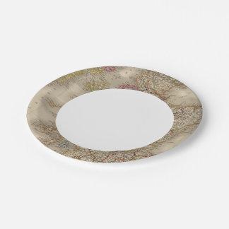 Scotland 12 paper plate