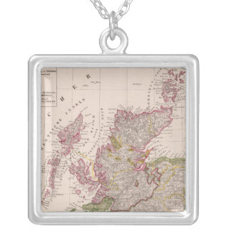 Scotland 14 silver plated necklace