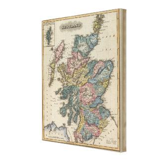 Scotland 16 canvas print