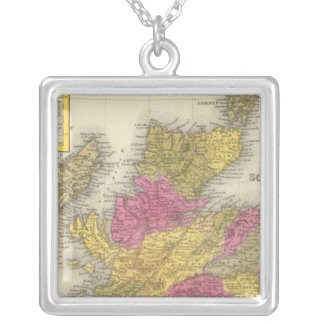 Scotland 16 silver plated necklace