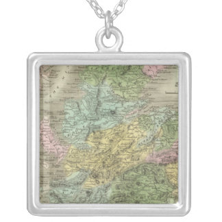 Scotland 17 silver plated necklace