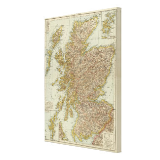 Scotland 18 canvas print