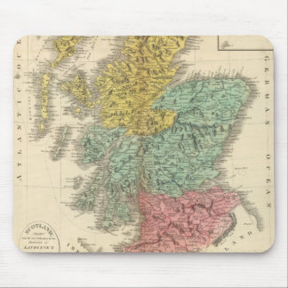 Scotland 18 mouse mat