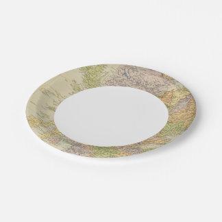 Scotland 19 paper plate