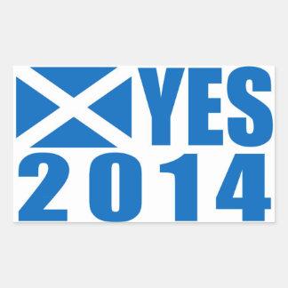 Scotland 2014 YES Sticker