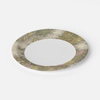 Scotland 2 paper plate