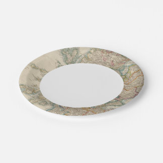 Scotland 3 paper plate