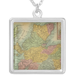 Scotland 3 silver plated necklace