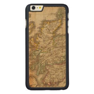 Scotland 4 carved maple iPhone 6 plus case