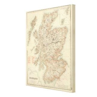 Scotland 5 canvas print
