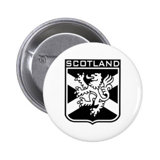 Scotland 6 Cm Round Badge