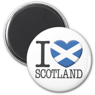 Scotland 6 Cm Round Magnet
