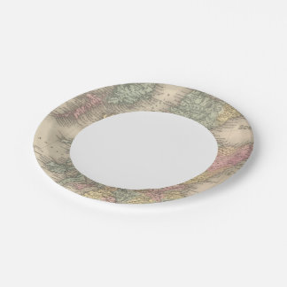 Scotland 6 paper plate