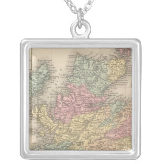 Scotland 6 silver plated necklace