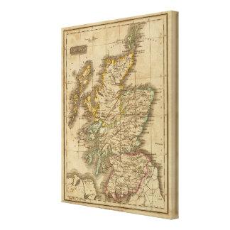 Scotland 8 canvas print