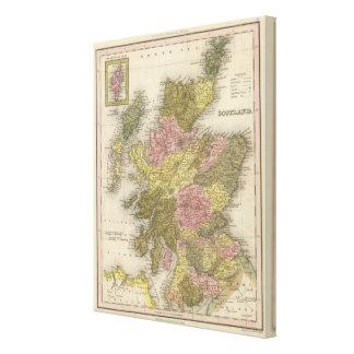 Scotland 9 canvas print