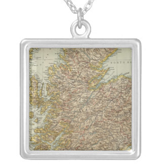 Scotland 9 silver plated necklace