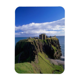 Scotland, Aberdeen. Dunnotar Castle. Rectangular Photo Magnet