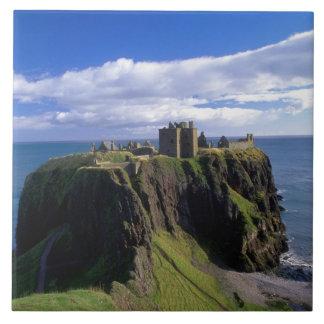 Scotland, Aberdeen. Dunnotar Castle. Tile