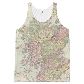 Scotland All-Over Print Tank Top