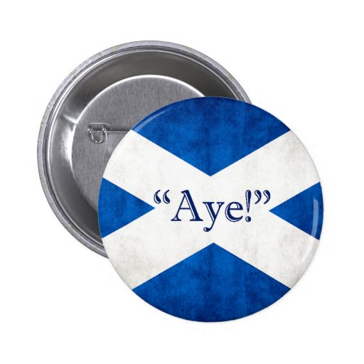 Scotland, AYE! Pin