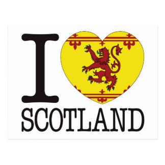 Scotland B Love v2 Post Card