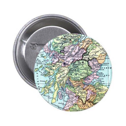 Scotland Pinback Buttons