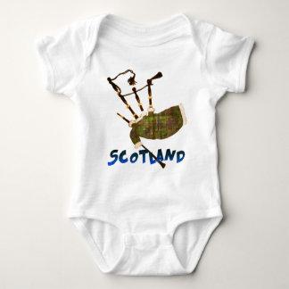 Scotland Bagpipes Baby Bodysuit