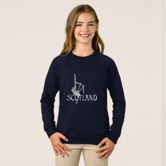 Scotland Bagpipes, Scottish Design Sweatshirt