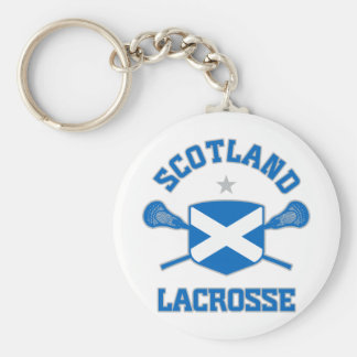 Scotland Basic Round Button Key Ring