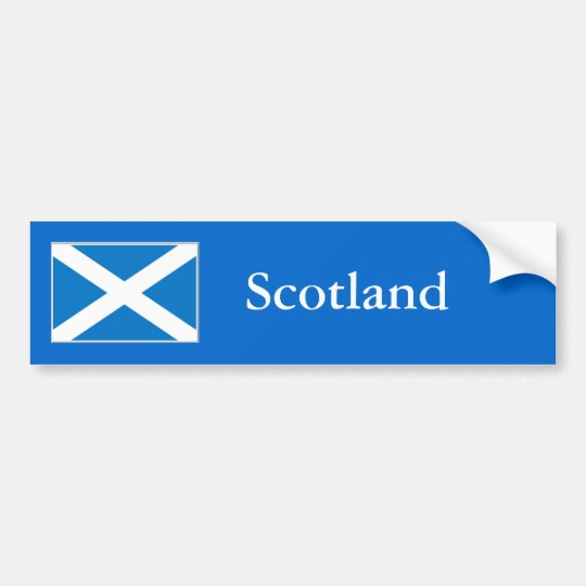 Scotland Bumper Sticker
