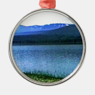 Scotland Cairngorm Mountains Art -36909a1 jGibney Silver-Colored Round Decoration