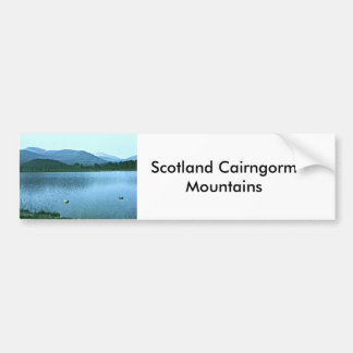 Scotland Cairngorm Mountains Art snap36688 jGibney Bumper Sticker