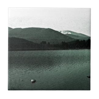 Scotland Cairngorm Mountains Art snap-36648 jGibne Small Square Tile