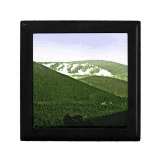 Scotland Cairngorm Mountains snap-36466a3 jGibney Small Square Gift Box