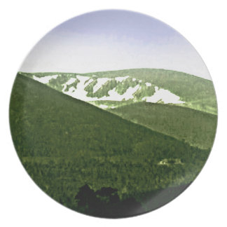 Scotland Cairngorm Mountains snap-36466a3 jGibney Party Plate