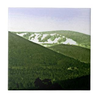 Scotland Cairngorm Mountains snap-36466a3 jGibney Small Square Tile