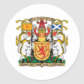 Scotland coat Of Arms Stickers