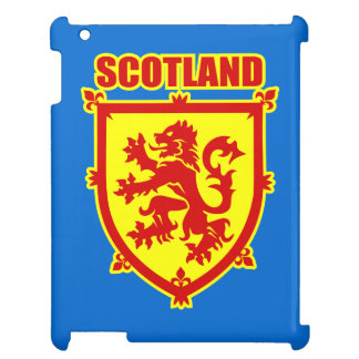 Scotland Coat of Arms with Lion Rampant iPad Case
