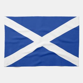 scotland country flag towel