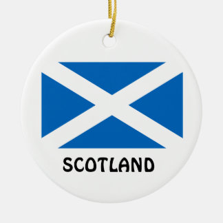 SCOTLAND* Custom Christmas Ornament