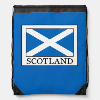 Scotland Drawstring Bag