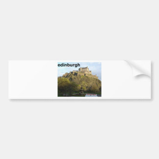 Scotland Edinburgh Castle (St.K) Bumper Sticker